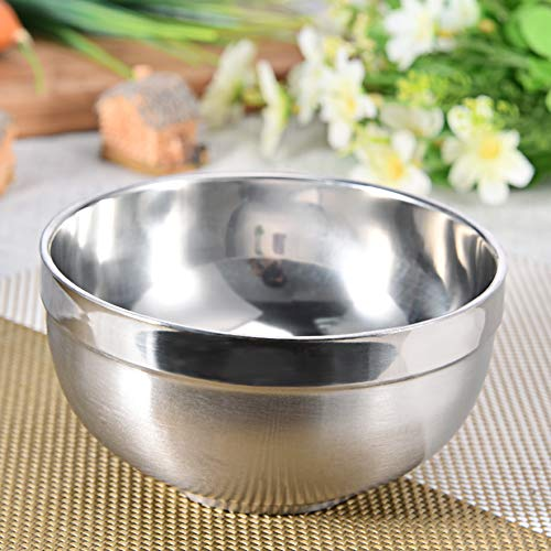 HURA Outdoor Tablewares - Pc Ultralight Stainless Steel Bowl Travel Camping Outdoor Tableware Bowl 1 PCs
