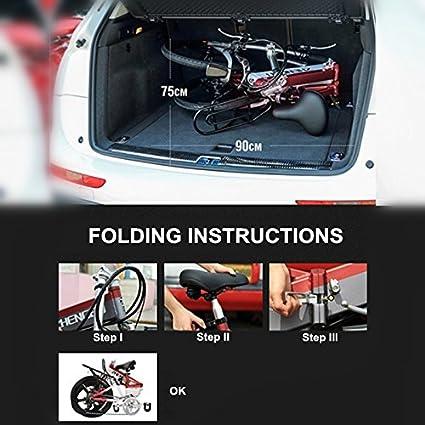 ZB-FH Alta calidad 240W 48V 10.4Ah 20 pulgadas Bicicleta eléctrica plegable, Marco de aleación de aluminio, Rueda integrada de aleación de magnesio, ...