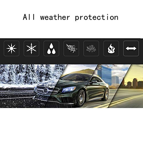 Thick and Cotton Velvet Hood Compatible with Mercedes-AMG Class S AMG LLHGYY Car Covers Can Adapt to All Kinds of Weather Color : D, Size : 2018 AMG S 63 L 4MATIC+