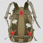 WFSH Sac À Dos Tactique Militaire 25L Large Imperméable Molle Bug Out Sac Armée 3 Jours Assault Pack 10