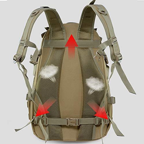 WFSH Sac À Dos Tactique Militaire 25L Large Imperméable Molle Bug Out Sac Armée 3 Jours Assault Pack 5