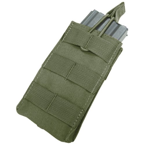 Single M4/M16 Open Top Mag Pouch Color- OD Green