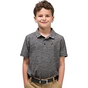 Jolt Gear Youth Boys Golf Dri Fit Polo Shirt, Breathable Performance Fit