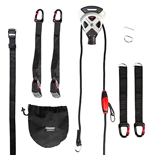 CrossCore System Suspension Trainer Fitness Equipment + Pro Kit by CrossCore