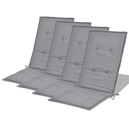 Amazon.com: Festnight Set of 4 Patio Dining Chair Cushions ...