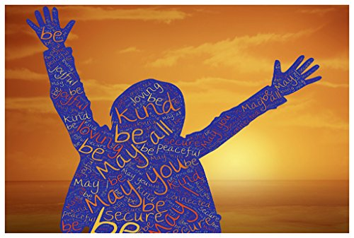 Kindness Poster Classroom 18-Inches By 12-Inches Premium 100lb Gloss Paper