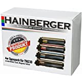 4x Hainberger Toner für Brother TN-230 DCP-9010 Brother DCP-9010 CN Brother HL 3040 CN Brother HL 3070 CW Brother MFC-9120 CN Brother MFC-9320 CW