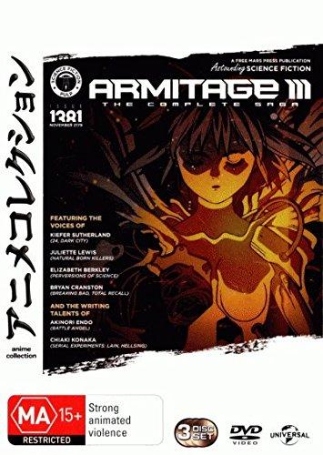 Armitage III Complete Series | 3 Discs | Anime & Manga | NON-USA Format | PAL | Region 4 Import - Australia