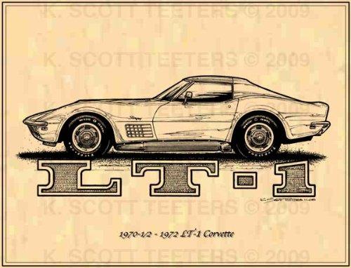 (1970-1/2 - 1972 LT-1 Corvette Profile)