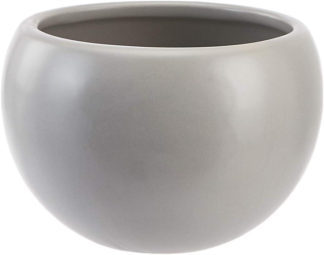 Grau rund Basics Pflanztopf zum Aufh/ängen Kupferfarben