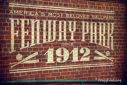 Fenway Park 1912 Interior Vintage Print - Boston Prints - Red Sox Wall Art - Fenway Park Decor (1912 Print)