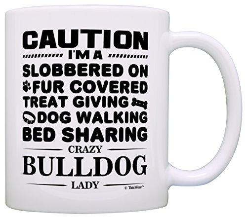 Lover Gifts Bulldog English Coffee
