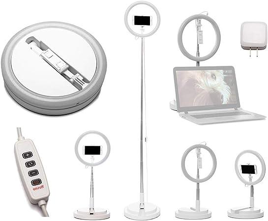 Pink Vlog-Gear 11 1//2 Desktop All-in-One Ringlight