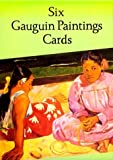 img - for Six Gauguin Paintings Cards (Dover Postcards) book / textbook / text book