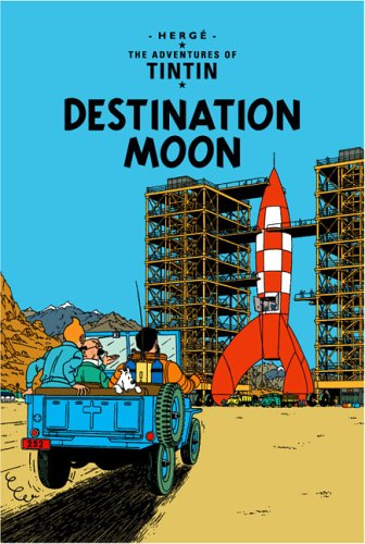 Book cover for Destination Moon