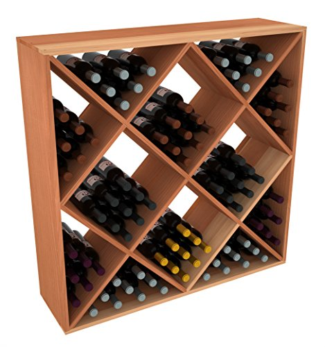 Creekside 120 Bottle Ultimate Wine Cube Rack, 12