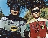 Batman & Robin Adam West Burt Ward reprint signed 8x10 photo #2 RP