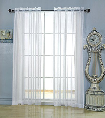 Long Tailored Curtain Panel - 6