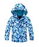 Hiheart Girls Boys Waterproof Fleece Lining Jacket Hood...