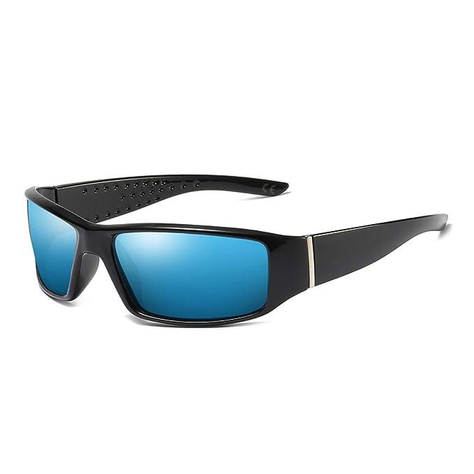 AMZTM Gafas de Sol Deportivas para Hombres Polarizadas Gafas para Pesca