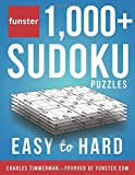 Funster 1,000+ Sudoku Puzzles Easy to Hard: Sudoku puzzle book for adults
