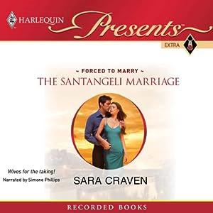 The Santangeli Marriage Audiobook