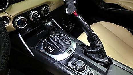 Amazon.com: Fiat 124 Spider 2015-16 bota/funda para palanca de cambios AUTO de RedlineGoods: Automotive