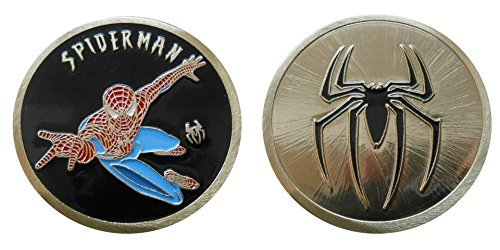 Spider-man - Character Challenge Coin / Logo Poker / Lucky Chip by Coin and Coins