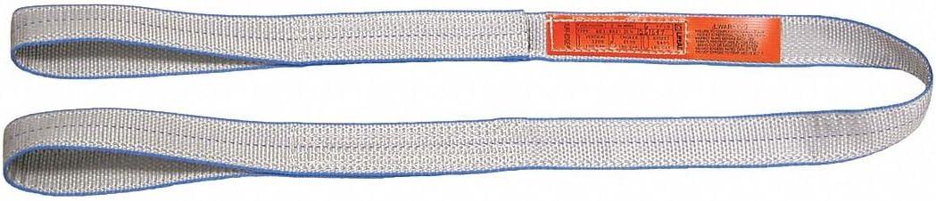 Type 3 Web Sling 20 ft 1 W Number of Plies: 1 Tuff-Edge Polyester Flat Eye and Eye
