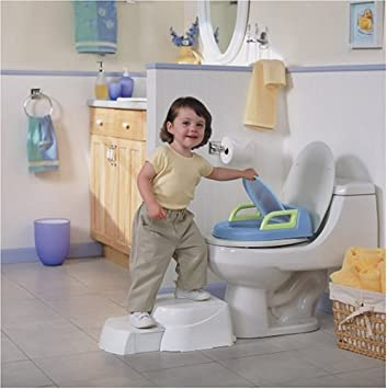 Safety 1st Potty u0027n Step Stool  sc 1 st  Amazon.com & Amazon.com : Safety 1st Potty u0027n Step Stool : Toilet Training Step ... islam-shia.org