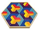 Bamboo Collection Color Design Tiles, Trapecolo