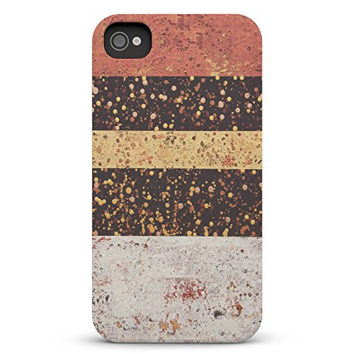 Koveru Back Cover Case for Apple iPhone 4/4S - Parallel Pattern