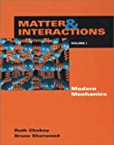 img - for 1: Matter and Interactions I: Modern Mechanics book / textbook / text book