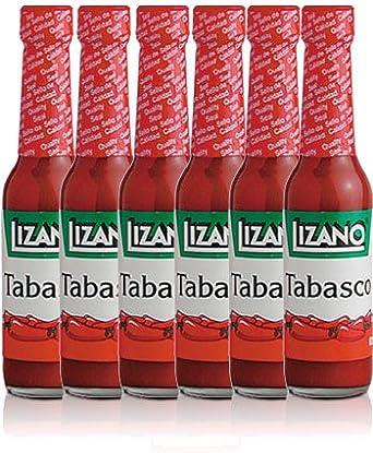 Lizano Chile Tabasco 64 Gr, 6 Pack: Amazon.es: Alimentación y bebidas