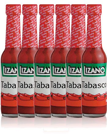 Lizano Tabasco 62 gr, 6 Pack