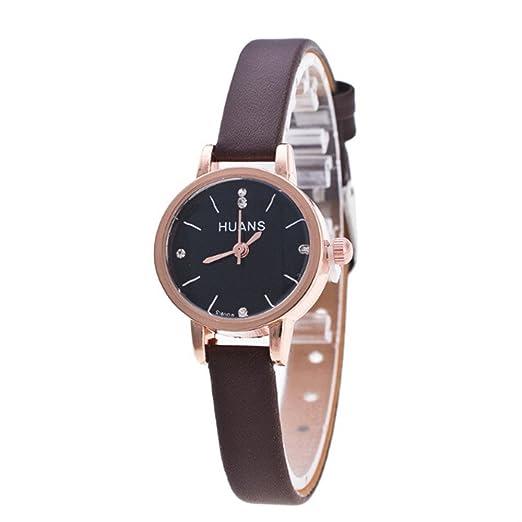 VEHOME Reloj Simple y Moderno para niñas - Salvaje - Cinturón Delgado - Cuarzo Digital-Mujeres Relojes Inteligentes relojero Reloj reloje de Pulsera Marcas ...