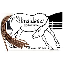 Braideez Braiding Wire Brown