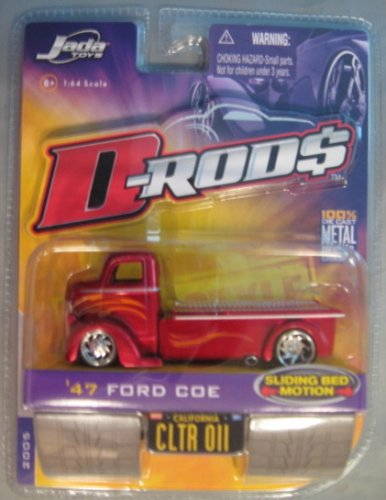 Buy d-rods '47 ford coe truck red