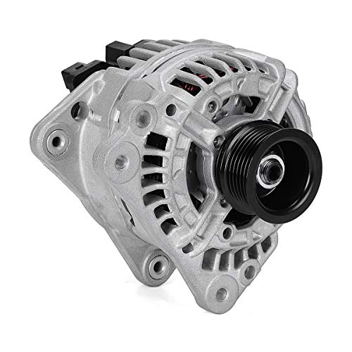 YITAMOTOR New Alternator Compatible for VW Volkswagen Beetle 1999-2005, Golf 1999-2006, Jetta 2000-2005 1.8L Turbo Diesel 021903025J 0124325002
