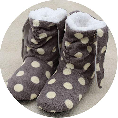 Winter Women Slippers White Indoor Floor Shoes Female Warm Home Slippers,2,91