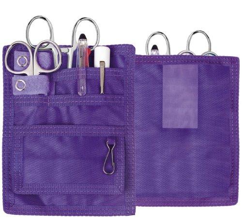 Prestige Medical Deluxe Belt Loop Organizer Kit with Forceps (Purple)