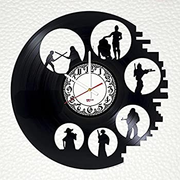 office wall clock. Simple Office Star Wars Trilogy Handmade Vinyl Record Wall Clock  Get Unique Home Room  Or Office Wall For Office