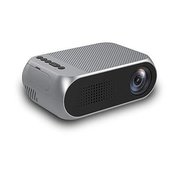 WSJ Proyector casero de HD LED, proyección de la Ayuda 1080P ...