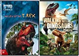 Walking with Dinosaurs Movie & Valley of the T-Rex Set DVD Animated Dino Fun Pack Films