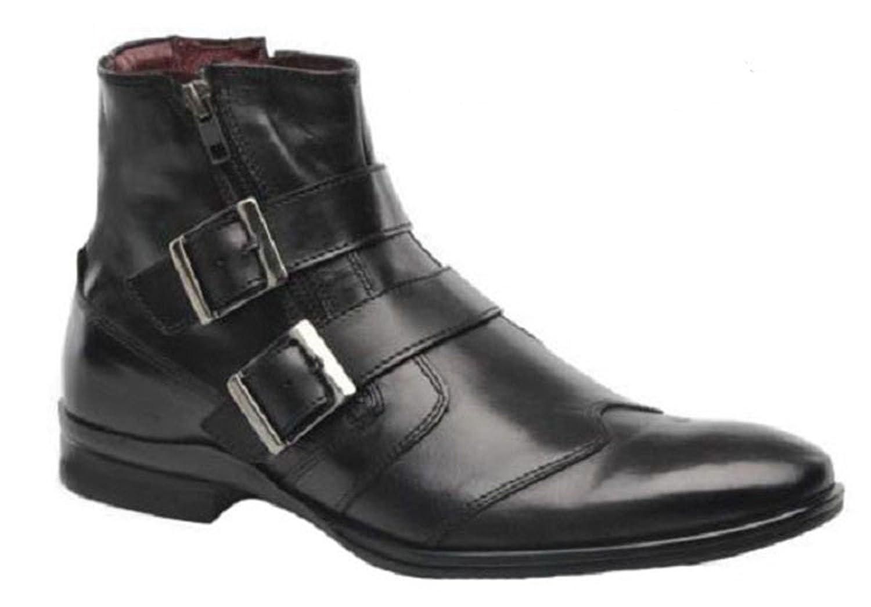 11sunshop Schuhe Lederstiefel Modell Gracie von HGilliane Design Im 33 46