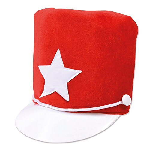 Bristol Novelty BH512 Majorette Hat Red Soft Felt, One Size
