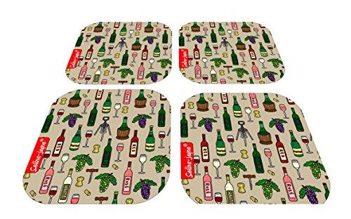 Selina-Jayne Wine Limited Edition Designer Coaster Gift Set