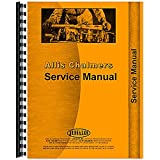 New Service Manual Made for Allis Chalmers AC Backhoe Model 615