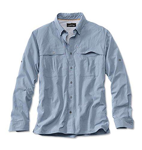 Orvis Long-Sleeved Regular Open-Air Caster Shirt (L(42-44),
