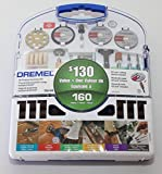 Dremel 160-Piece All-Purpose Accessory Kit, 710-04